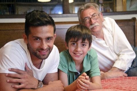 三世代男性